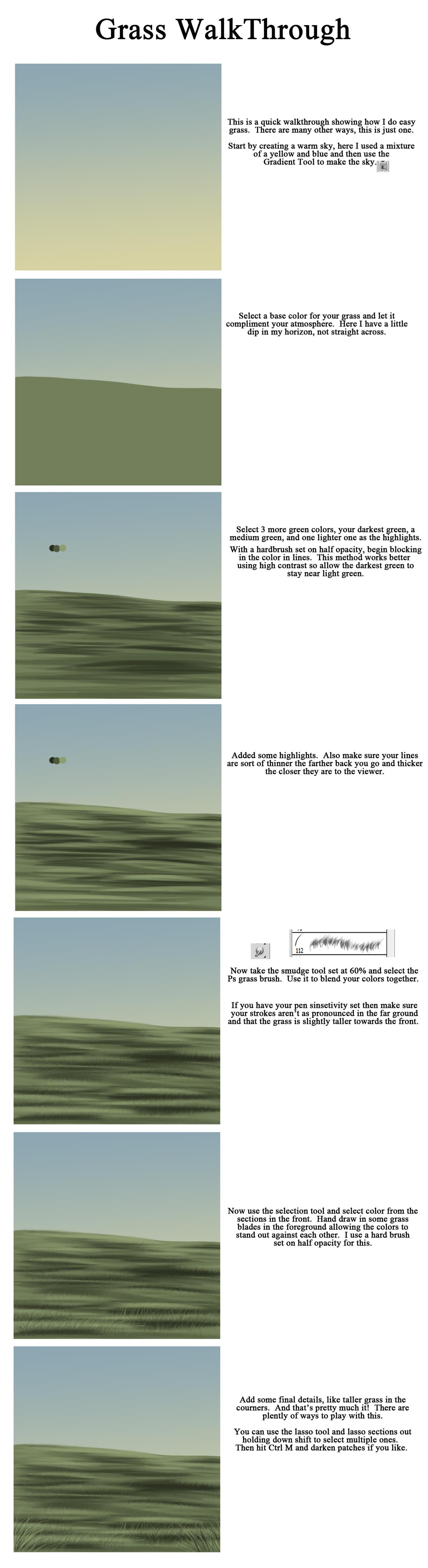 Grass Walkthrough by sVa-BinaryStar