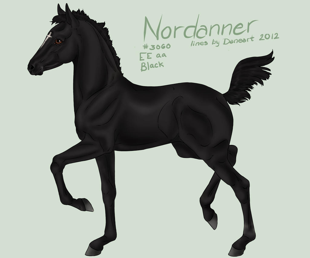 3060 Nordanner Foal by sVa-BinaryStar