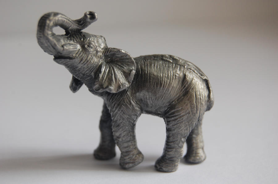Stock 404 - Elephant Statuette by pink-stock