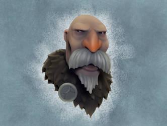 Old Dude by teardropclock