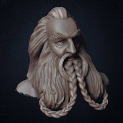 Oin from The Hobbit by teardropclock