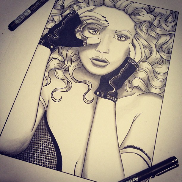 Christina Aguilera by christieannem