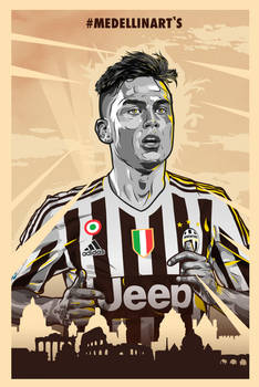 Paulo Dybala 2015/16 Juventus Poster