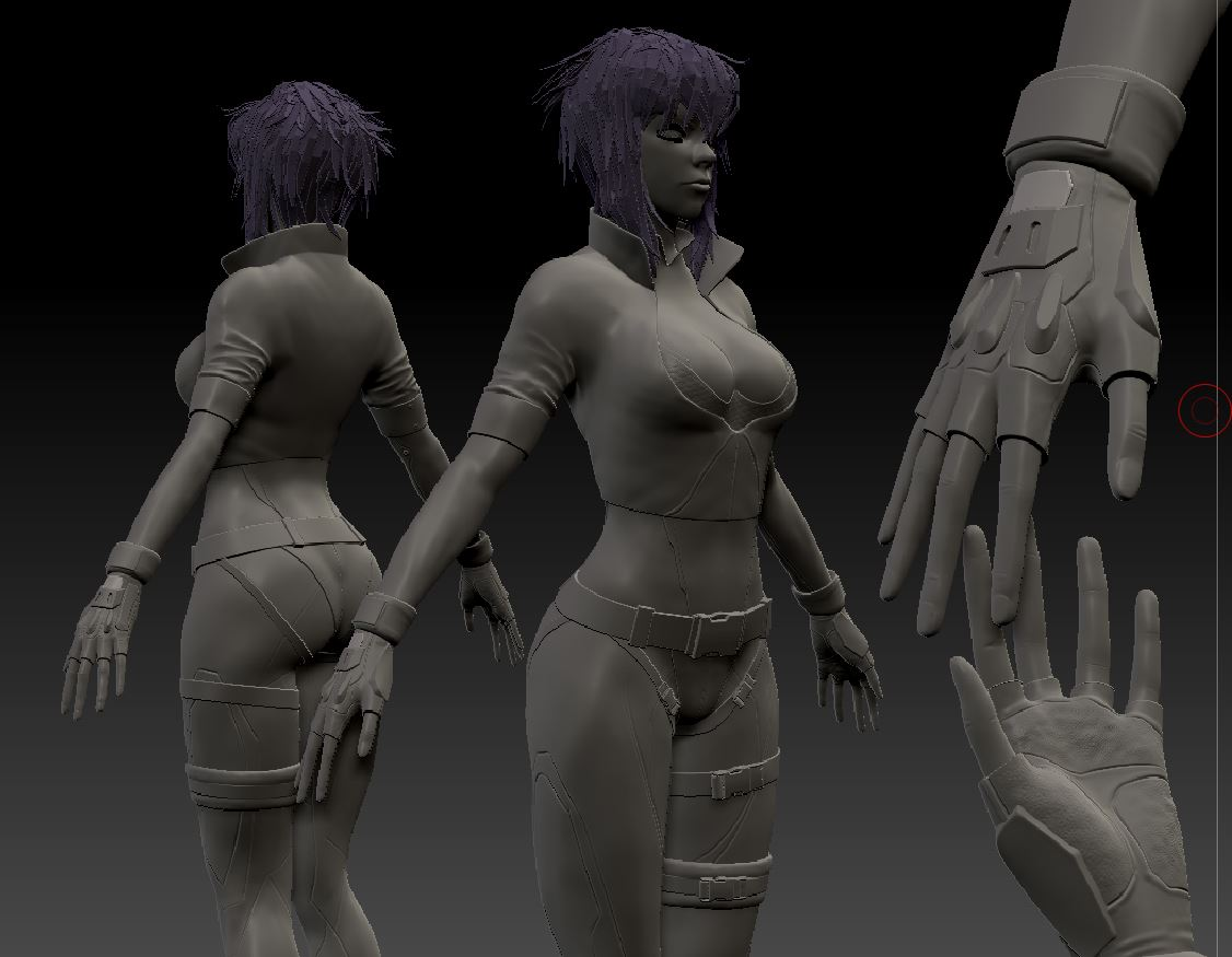 Ghost In The Shell Body Progress By Sorgdesigns On Deviantart
