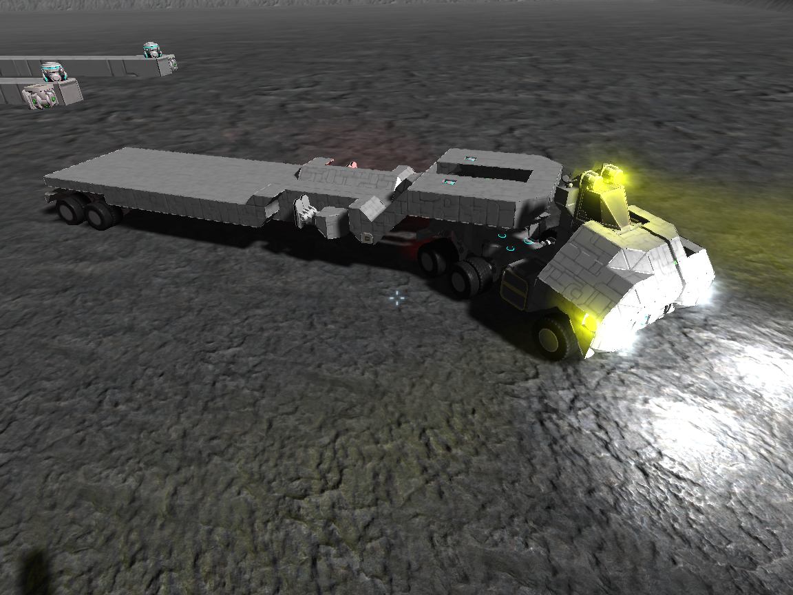 Space Truck in Space Engineers by cronoseprime