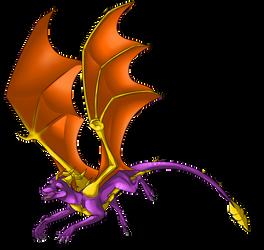 Spyro by illegal-spyro-fan