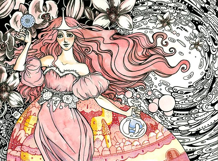 Princess Bubblegum by Julliane