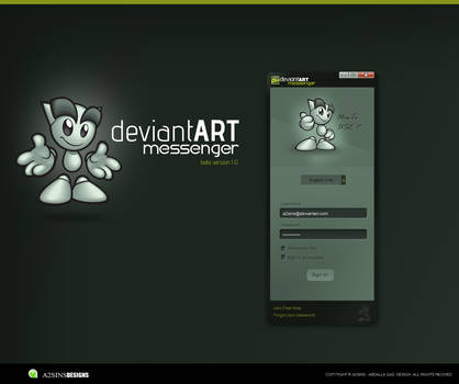 DeviantART Messenger Beta