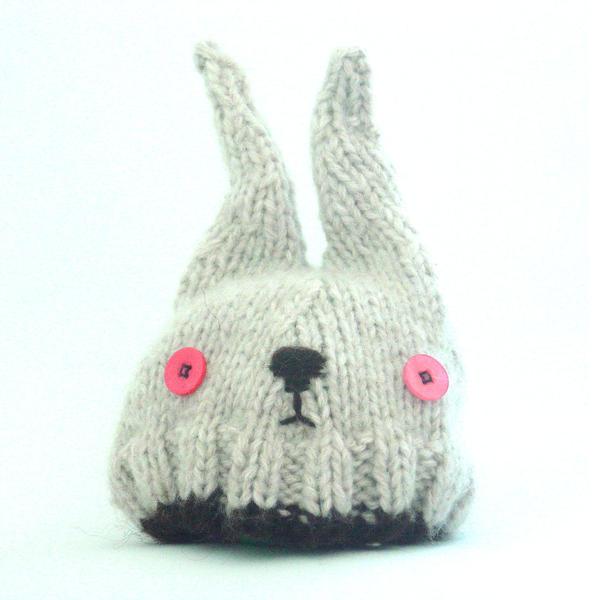 Knitting Pattern Rabbit Hat : Knitted Rabbit Hat by Squibblett on deviantART