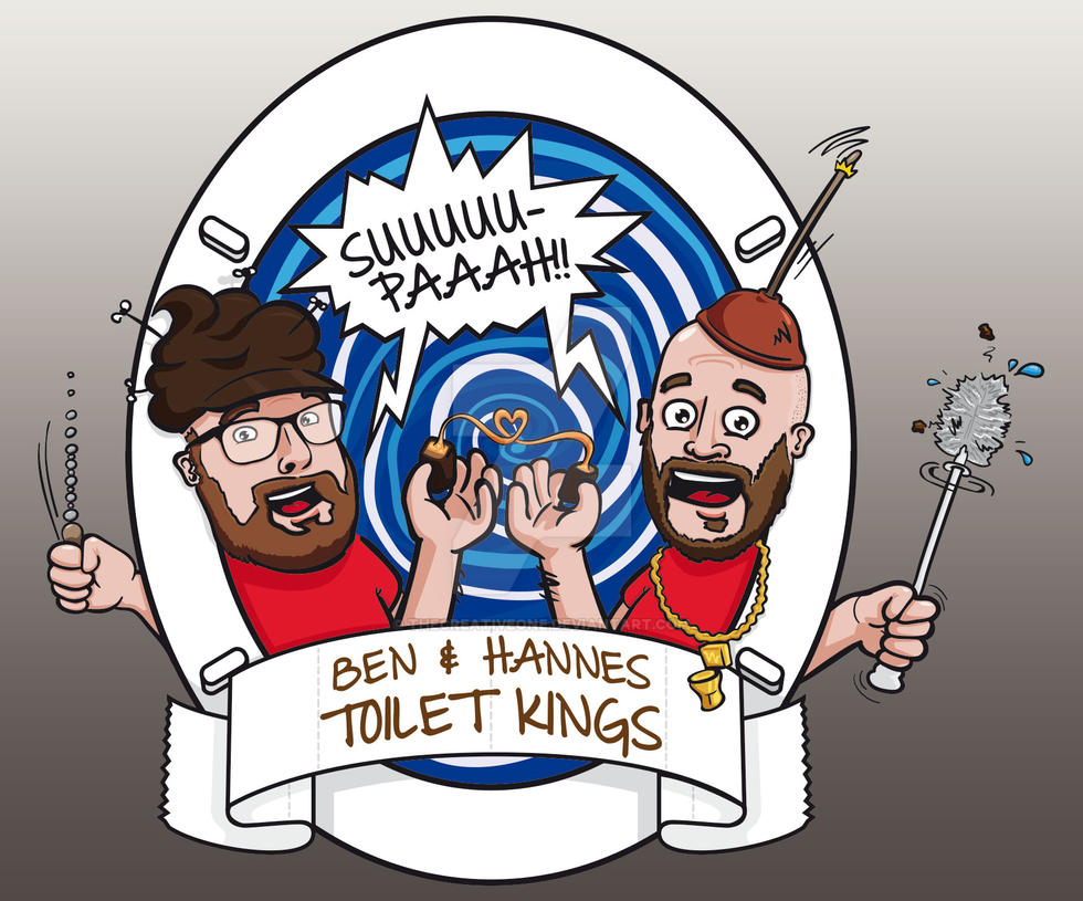 RBTV - Ben + Hannes - Toiletkings by TheCreativeOne