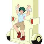Deku in the tickle machine part 1