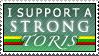 I support a STRONG Toris