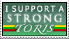 I support a STRONG Toris by Sea-Dragon