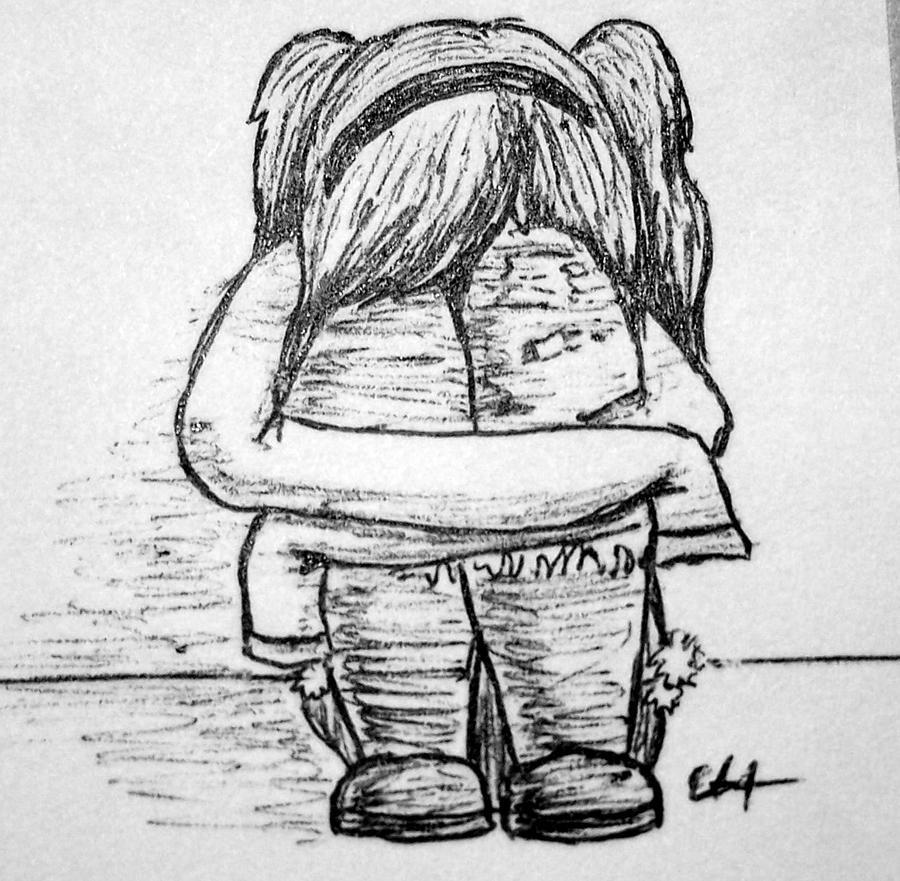 Sad Girl by nimerlie1219 on DeviantArt