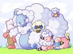 Fluffy nap