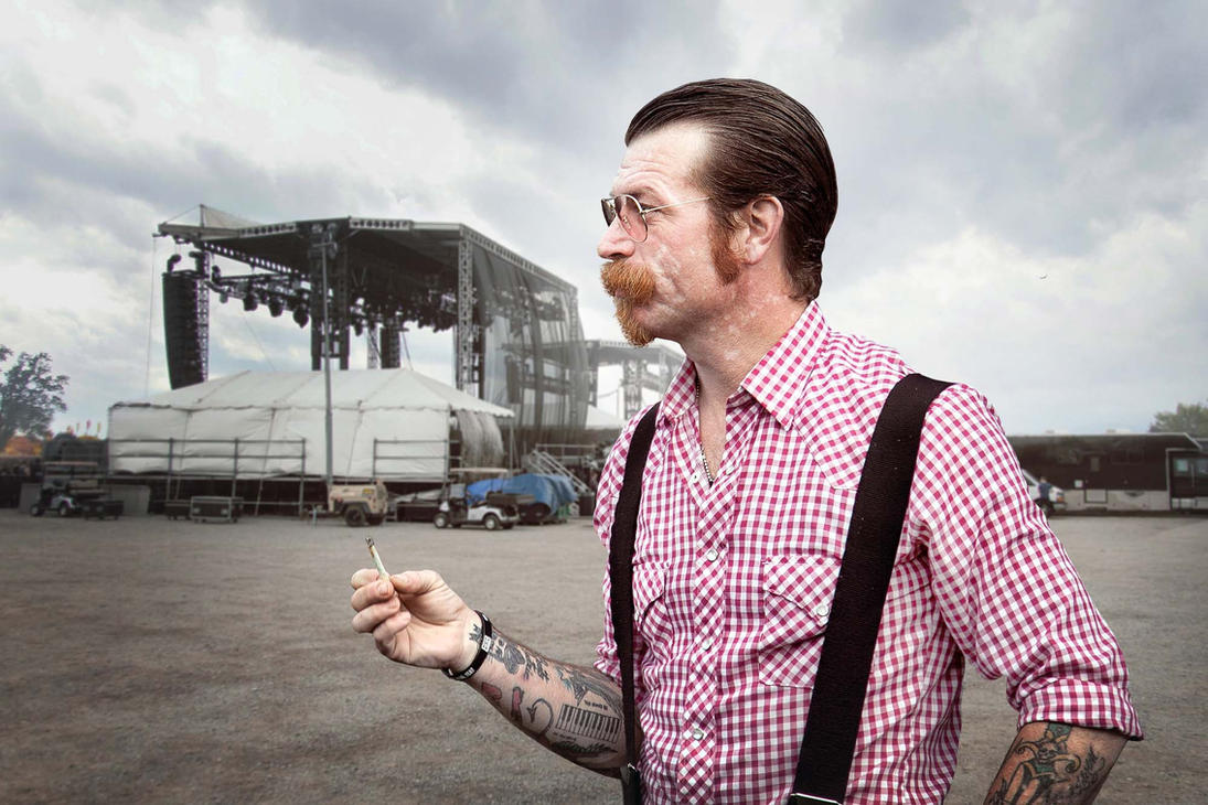Jesse Hughes Portrait 2015 by Cowinacan