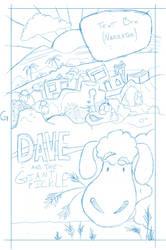 Dave Cover Sketch by illdrawtomorrow