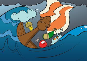 Veggies Overboard by illdrawtomorrow