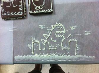 Chocolate Monster by illdrawtomorrow