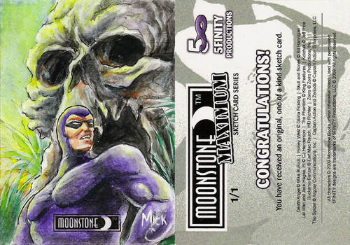5Finity Phantom Sketch Card