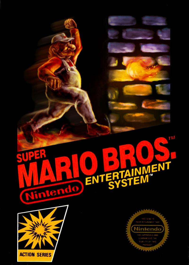 NES Cover Jam Super Mario Bros by puggdogg