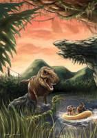 Jurassic Park by puggdogg