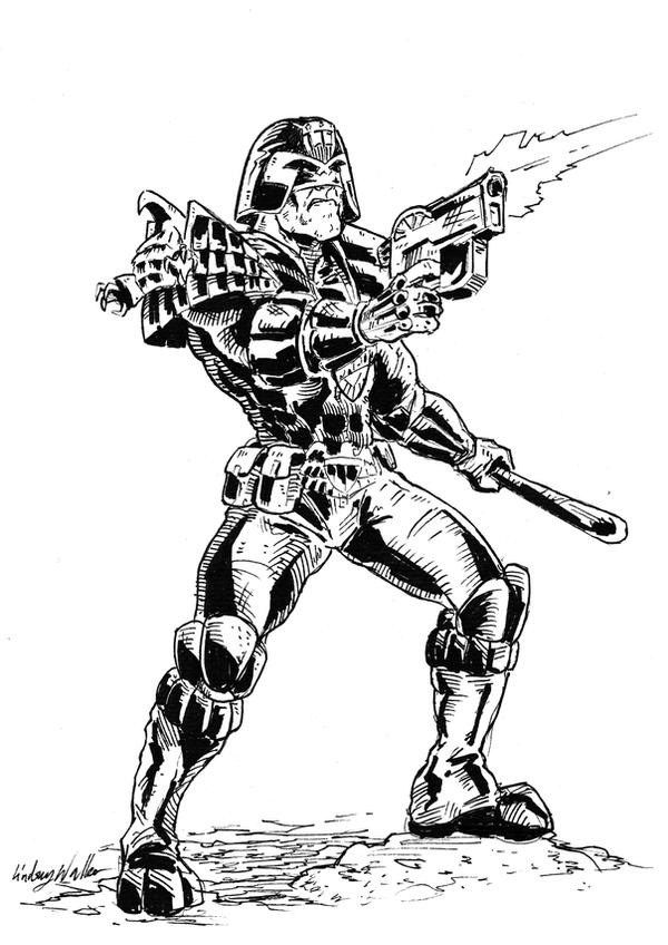 Judge Dredd by puggdogg