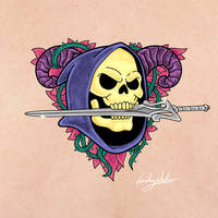 Skeletor Tattoo