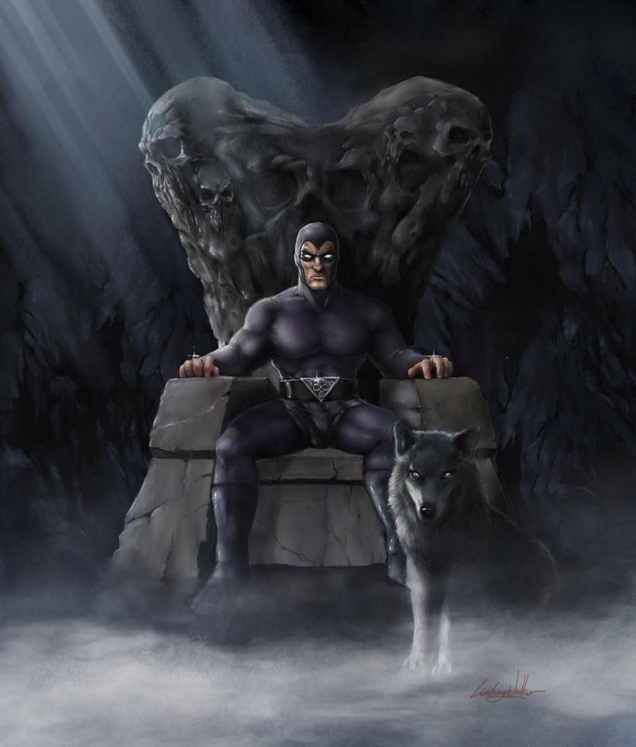 The Phantom: Skull Throne by puggdogg