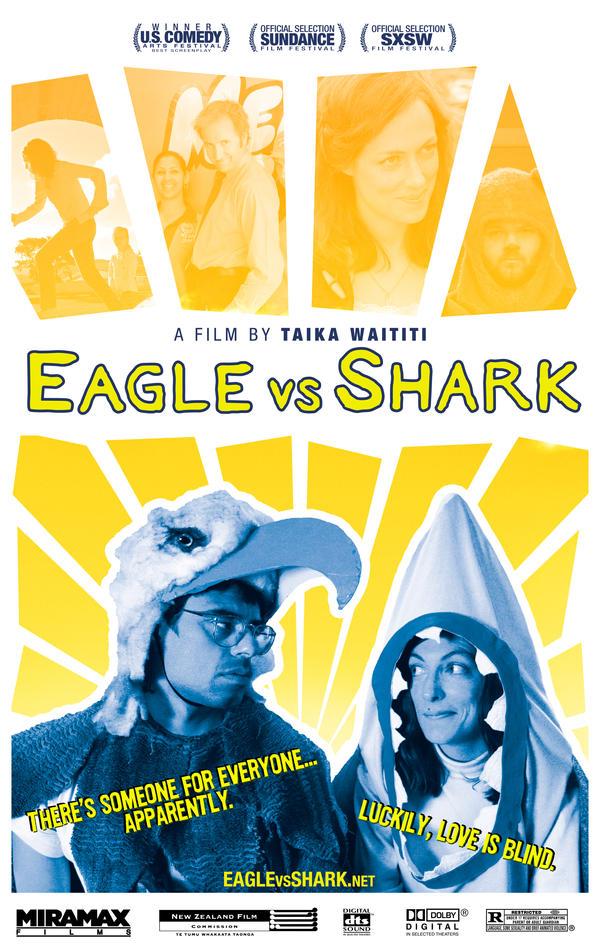 Eagle Vs Shark No.1 by puggdogg