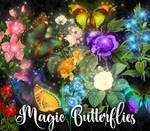 Magic Butterfly Clipart