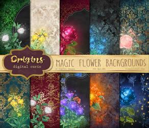 Magic Flower Backgrounds