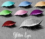Glitter Eyes clipart by DigitalCurio