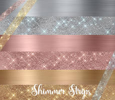Shimmer Strips Clipart by DigitalCurio