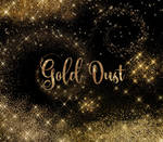 Gold Dust Clipart Overlays