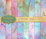 Shimmering Marble Pastel Textures