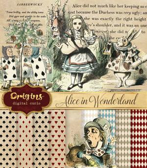 Alice in Wonderland Digital Pack