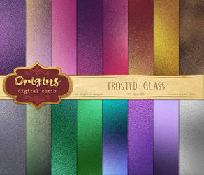 Frosted Glass Textures by DigitalCurio