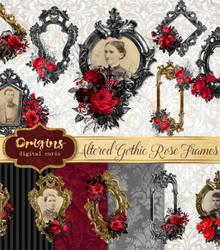Altered Art Gothic Frames