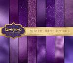 Metallic Purple Textures