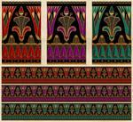 Art Deco Borders by DigitalCurio