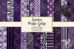 Seamless Purple Gothic
