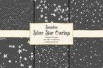 Seamless Silver Star Overlays