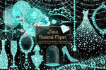 Aqua Diamond Clipart