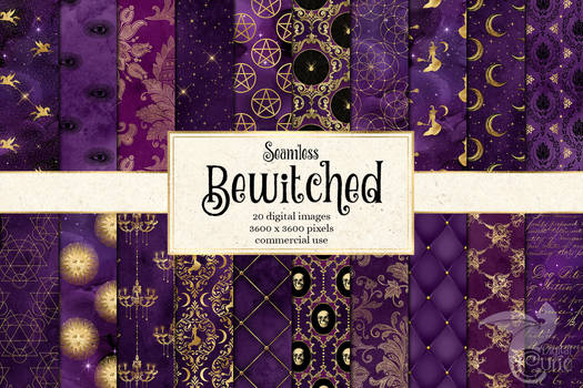 Bewitched Digital Paper