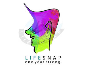 LifeSnap.in Typography Logo