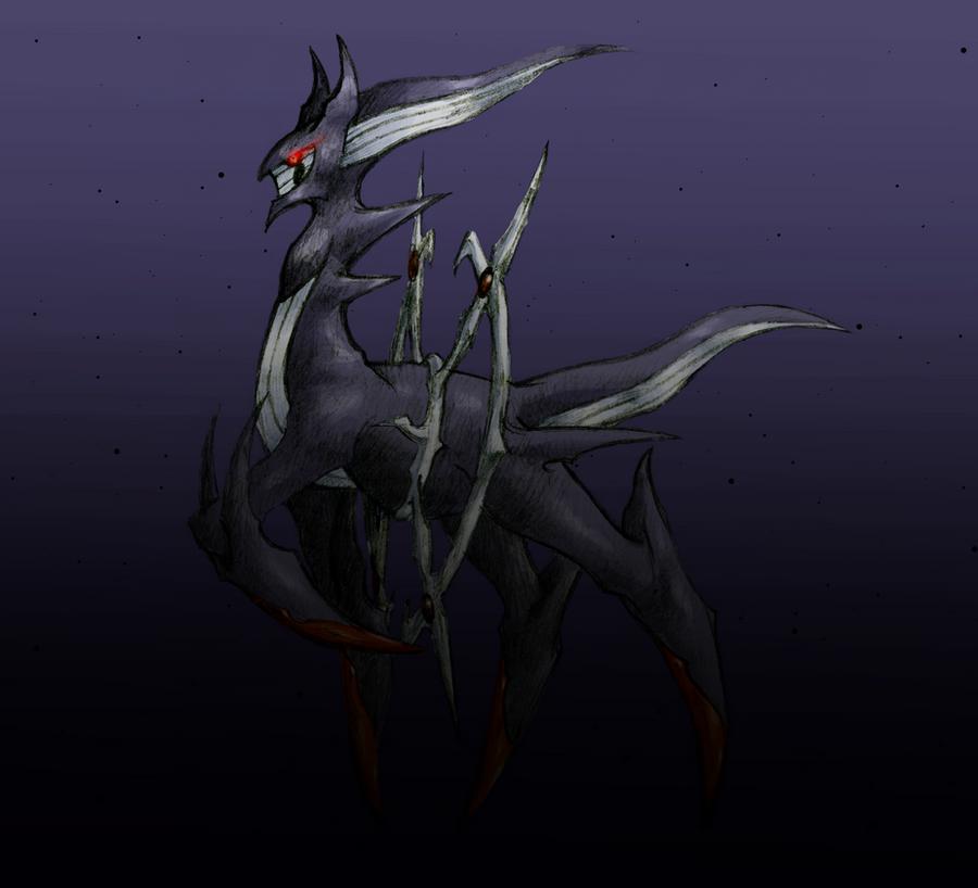 Shadow Arceus by Quattrochi on DeviantArt