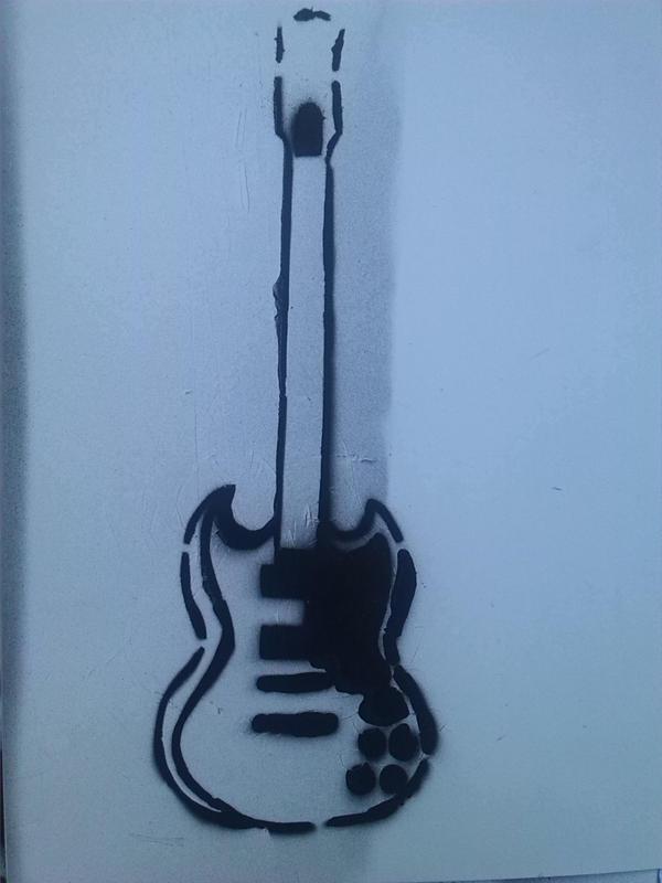 Guitar I by TessaJeanCook