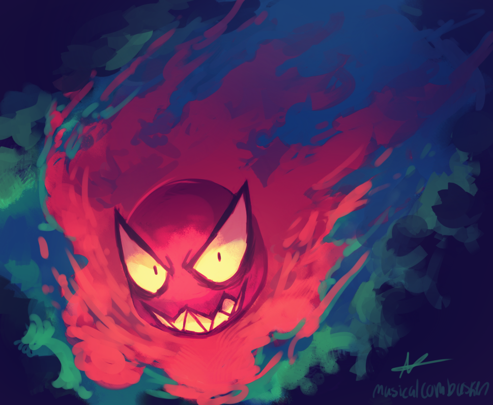Pokémon of the Week: Gastly Gastly_by_musicalcombusken-d7x1l8f