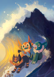 Pokemon Sun and Moon - EMAIL FOR PRINTS